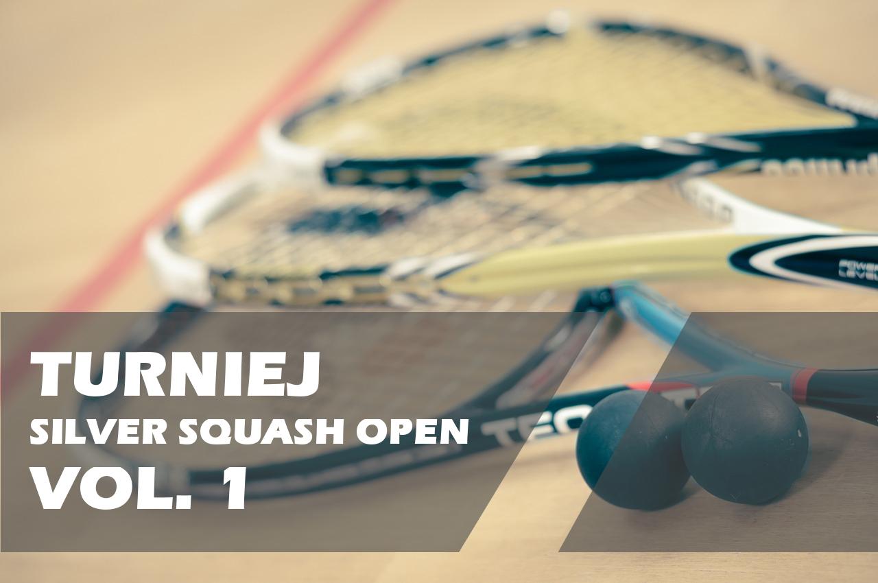 Silver Squash Kraków - Turniej Silver Squash Open 1