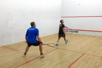 Zalety gry w squasha